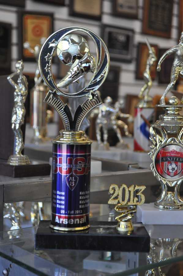 Custom Soccer Trophies for BUSA