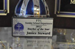 Sunday School Award - Trophy Cup